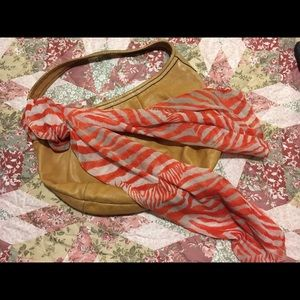 Scarf & coach purse